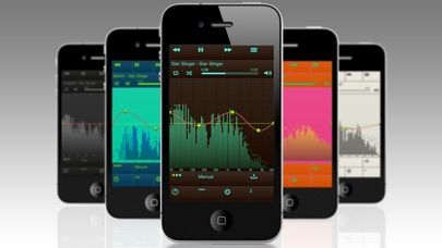 EQu - 高品質イコライザー screenshot1