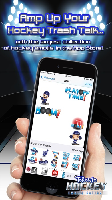 Toronto Hockey Emojis Screenshot 3