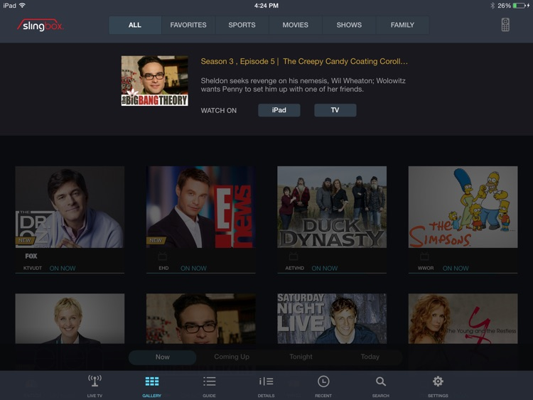 SlingPlayer Basic for iPad screenshot-4