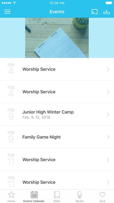 Laurelglen Bible Church screenshot 2