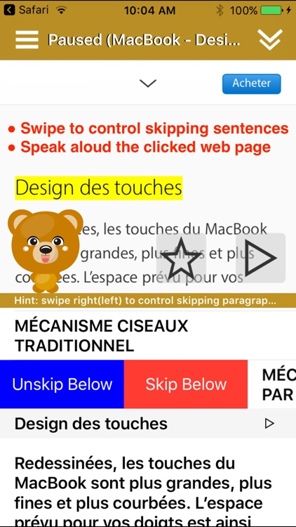 SpeakFrench 2 (14 French Text-to-Speech)
