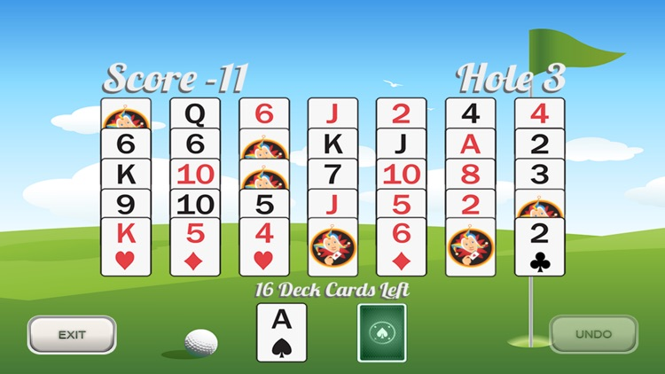 Golf Solitaire 18 screenshot-1