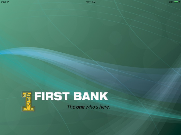 First Bank – Tablet Banking
