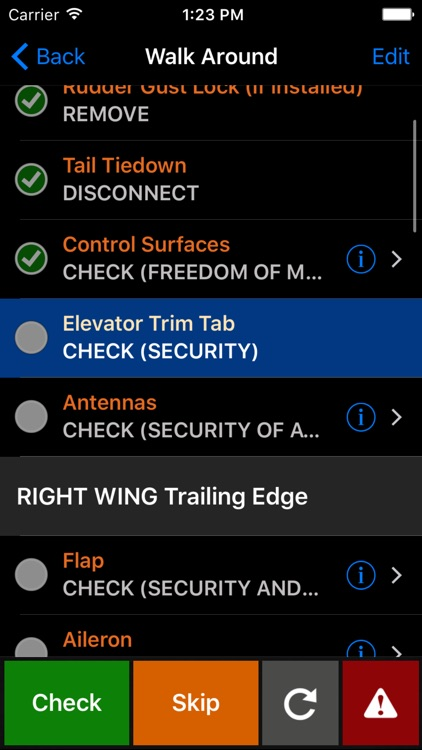 ForeFlight Checklist Pro for iPhone