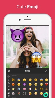 Photo Editor for Instagram No Crop, Emoji & Blur iphone images