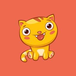 Jinx the Cute Kitty Cat Stickers