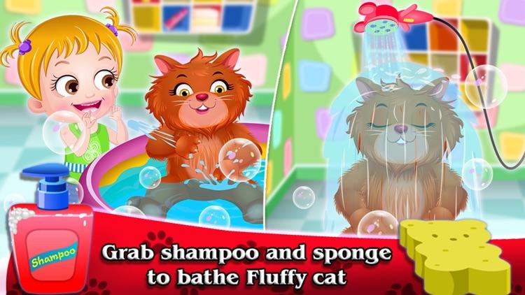 Baby Hazel Fluffy Cat