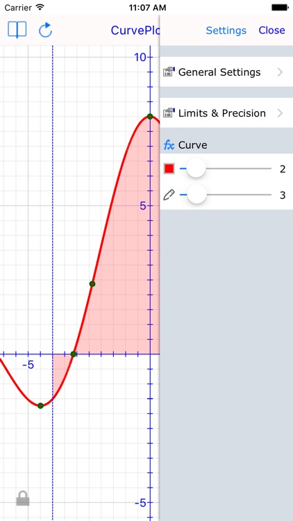 Curve Plot Graph Calculator screenshot-3