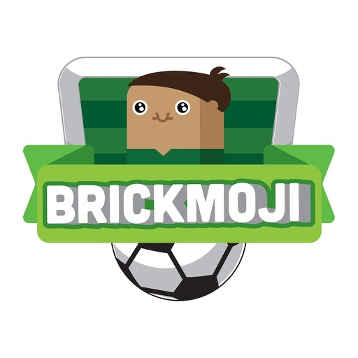 Brickmoji Stickers: Soccer Edition