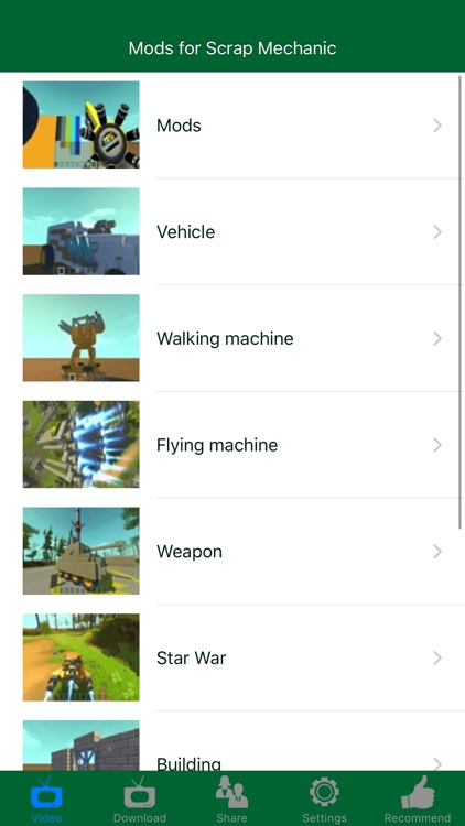 Contraptions and Mods for Scrap Mechanic