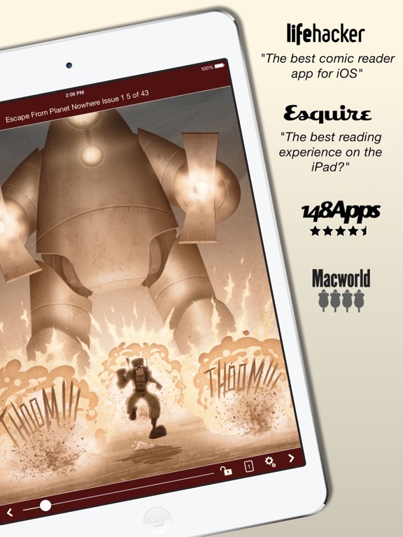 Screenshot #1 for Comic Zeal Comic Book Reader