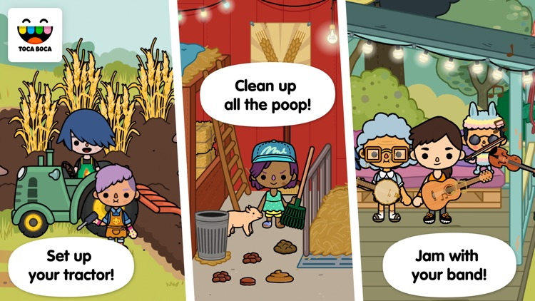 Toca Life: Farm screenshot-1