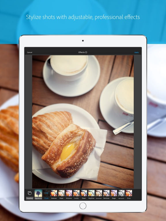 Screenshots for Photo Editor by Aviary
