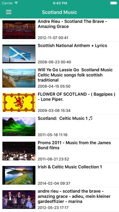 Irish Celtic Music & Scottish Folk Songs Pro screenshot four