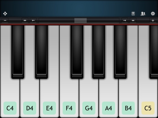 Virtuoso Piano Free 3 iPad