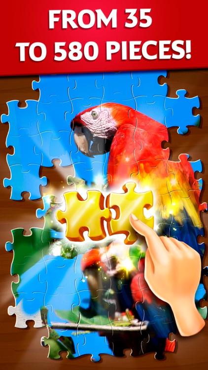 Jigsaw Puzzles Daisy screenshot-0