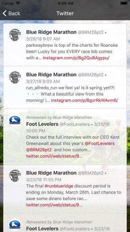 Blue Ridge Marathon screenshot-3