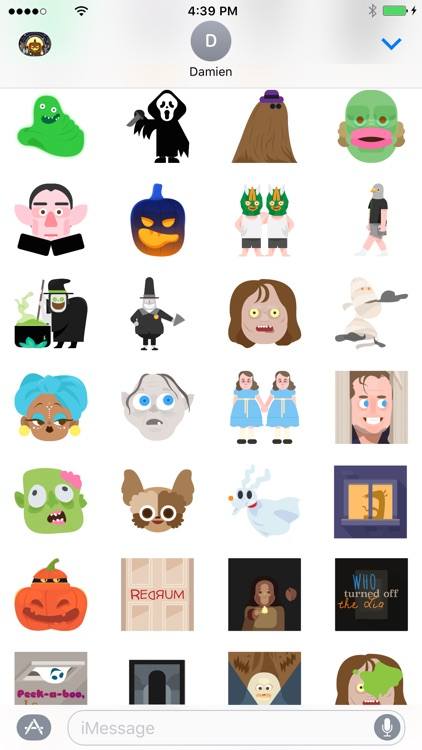 Hallowmoji - Halloween Emojis and Stickers screenshot-2
