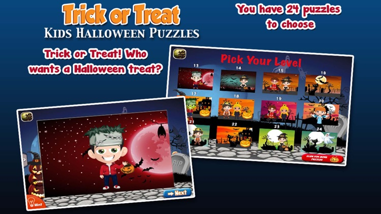 Trick or Treat Halloween Jigsaw Puzzles Deluxe