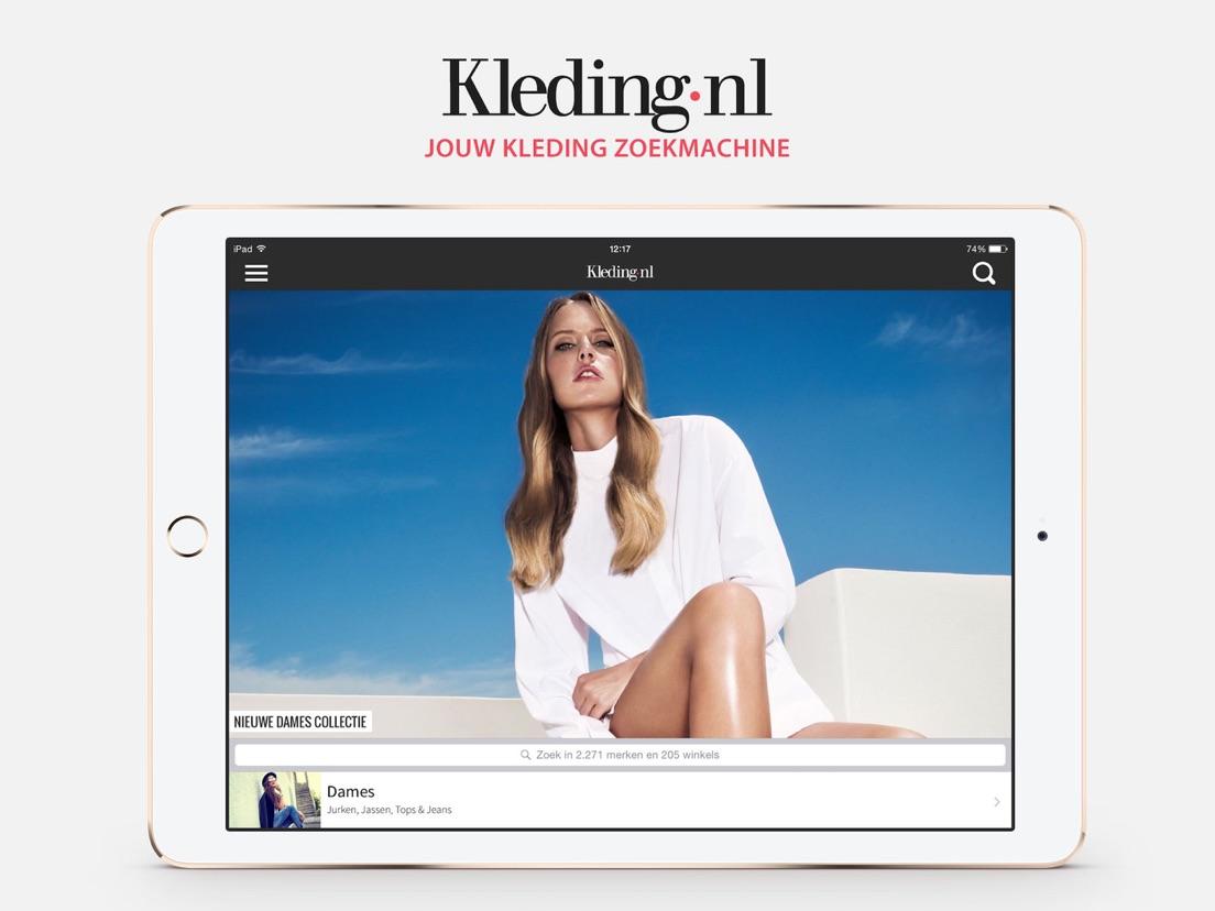De Kleding Zoekmachine.Kleding Nl App Voor Iphone Ipad En Ipod Touch Appwereld