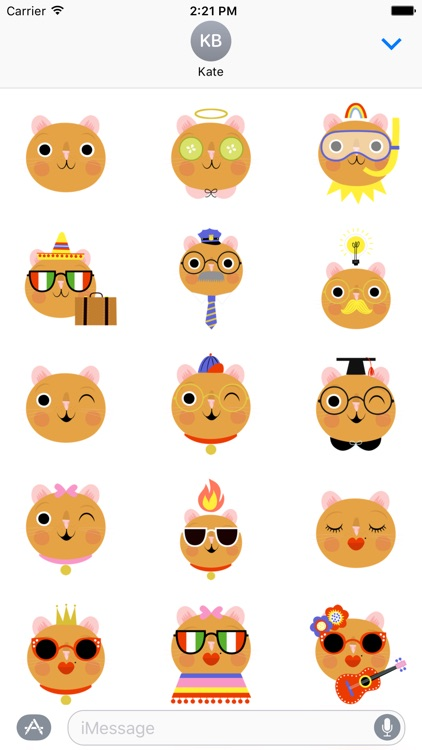 Emoji Pals - Quinn stickers screenshot-2