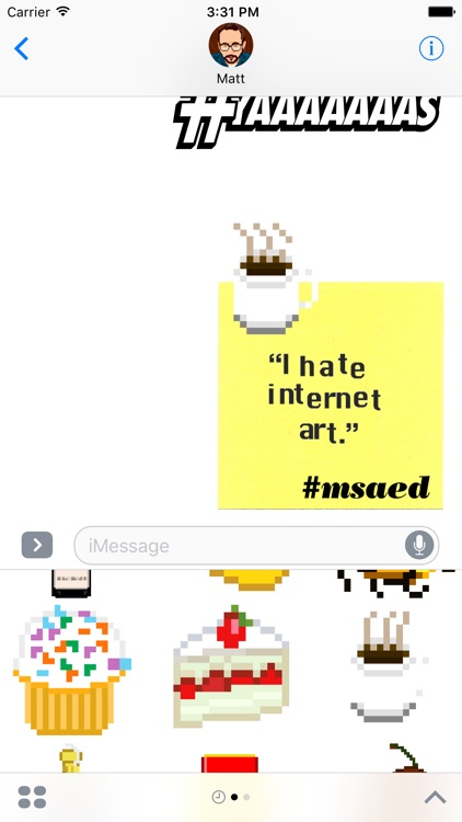 make something awful every day sticker pack screenshot-3