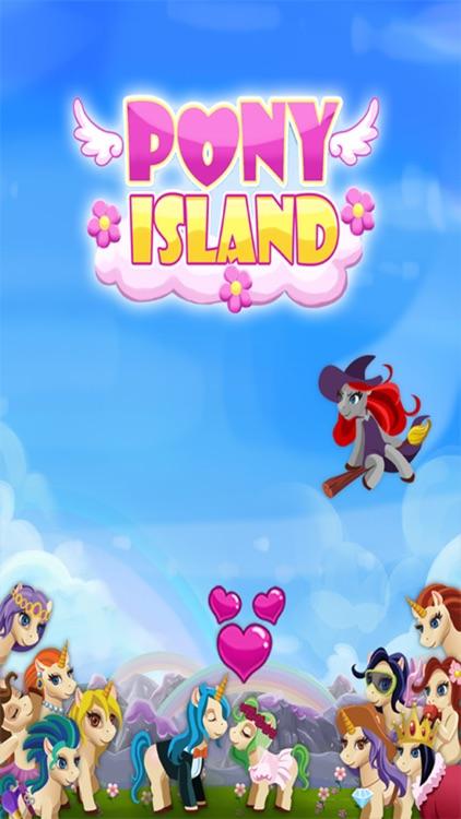 Pony island - cute paradise village