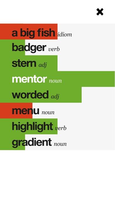 EF Mentor: Wordsのスクリーンショット5