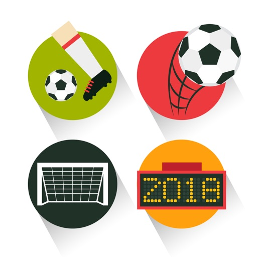 Russia Soccer 2018 - Countdown & Sports Wallpapers & Backgrounds icon