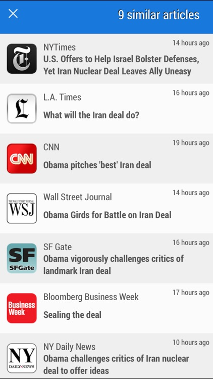 Simply News - The award-winning news app