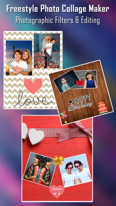 Foto Collage Maker Foto-EditorScreenshot von 1