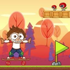 Activities of Angelo Skate Run Away - adventure land - Crazy day