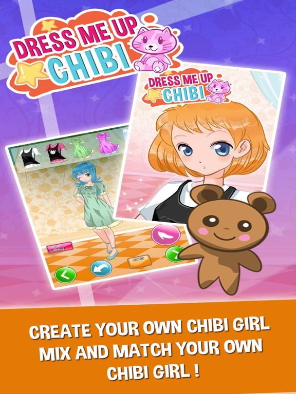 Screenshot 2 For Chibi Princess Anime Fun Dress Up Games Girls