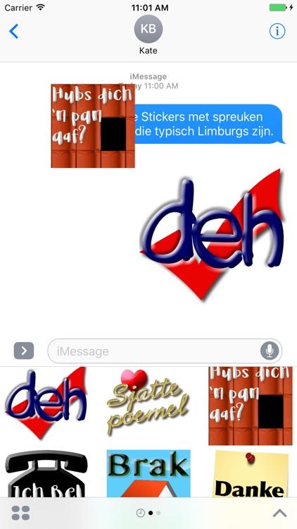 Limburg Stickers (woorden en spreuken)