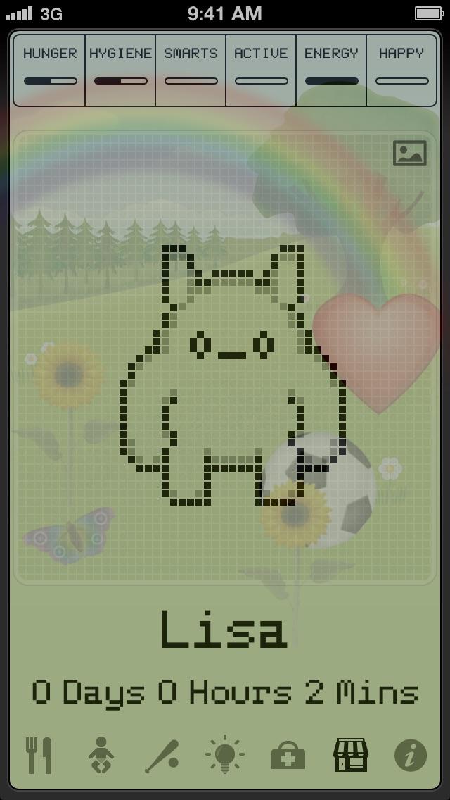 Hatchi - A Retro Virtual Petのスクリーンショット