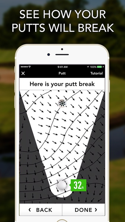 GolfLogix GPS + Putt Breaks
