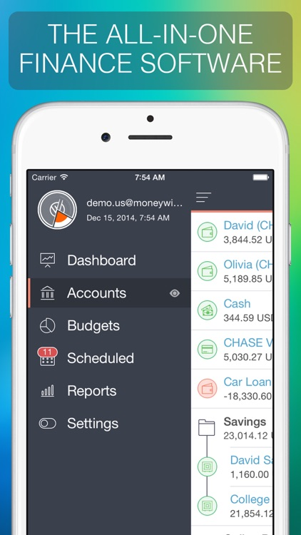 MoneyWiz 2 - Personal Finance screenshot-0