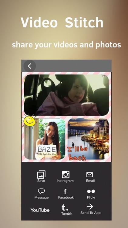 Clip Stitch 2 - Video and Photo Collage Maker screenshot-3