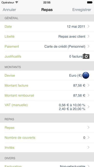 download Mes notes de frais Pro apps 4