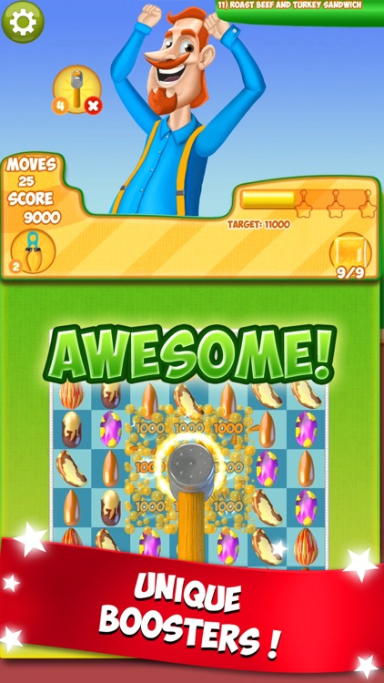 Nut Crunch: Puzzle Adventure! screenshot-4
