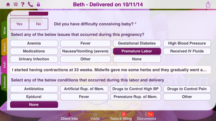 Mobile Lactation Consultant screenshot-2
