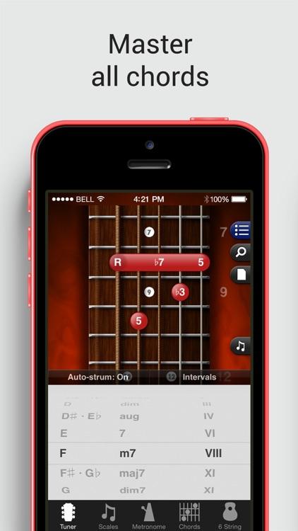 GuitarToolkit - tuner, metronome, chords & scales