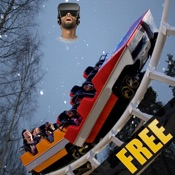 VR Real Winter Roller Coaster Simulator 2016 Free