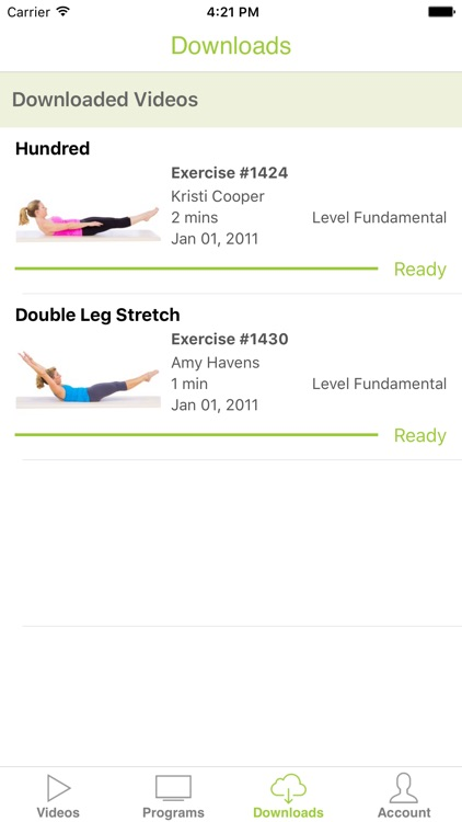 Pilates Anytime screenshot-3