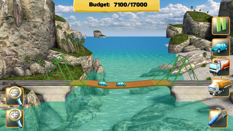 Bridge Constructor FREE screenshot-0