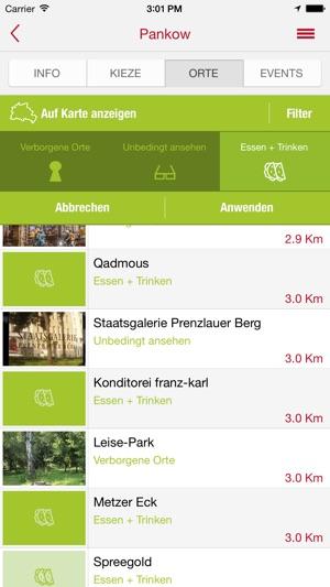 going local berlin im app store. Black Bedroom Furniture Sets. Home Design Ideas