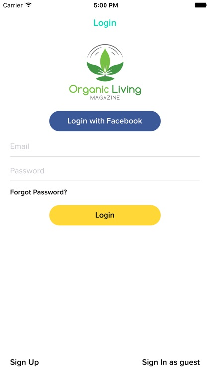 Organic Living Magazine screenshot-3
