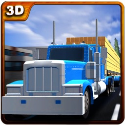 Wood Transporter Truck – Cargo Trailer Driving