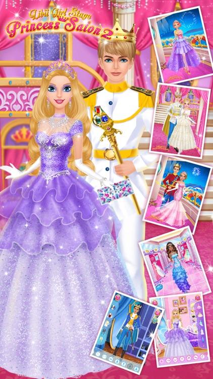 Princess Salon 2 - Makeup, Dressup, Spa and Makeover - Girls Beauty Salon Games screenshot-3