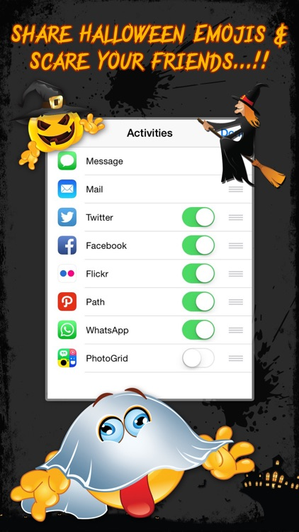 Halloween Emojis - Scary Emoji Icons & Stickers! screenshot-4